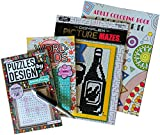 Brain Games Variety Puzzle Adult Activity Books: Coloring, Mazes & Word Finds