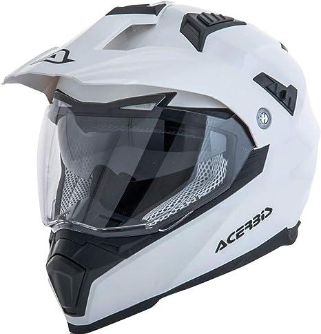 Acerbis casco flip fs-606 bianco xxl
