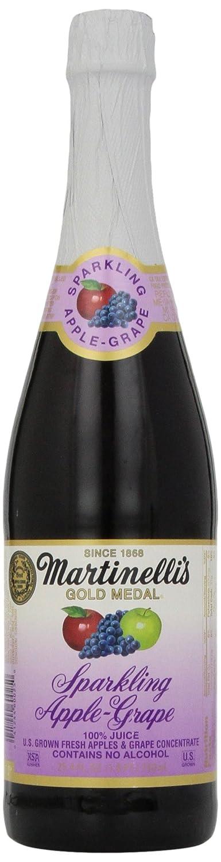 Martinelli's Sparkling Apple-Grape Juice, 25.4 oz