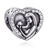 EMOSTAR Mother Baby Charms fits Pandora Charm