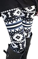 NORAME Women Boho Floral Leggings Spring Autumn Snowflake Stocking Pants