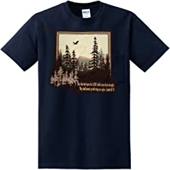 eThought They Shall Mount Up with Wings as Eagles - Isaiah 40:31 - Tshirt