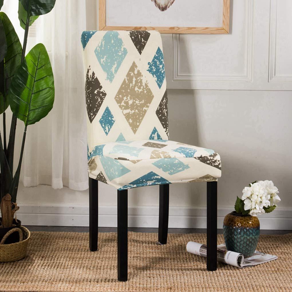Amazon.com: RXIN 4/6 Chair Cover Seat Pieces Elastic Set ...