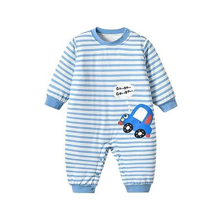 Mamelucos Bebé Unisex Mono Pijamas, Trajes de Algodón Romper Las ...