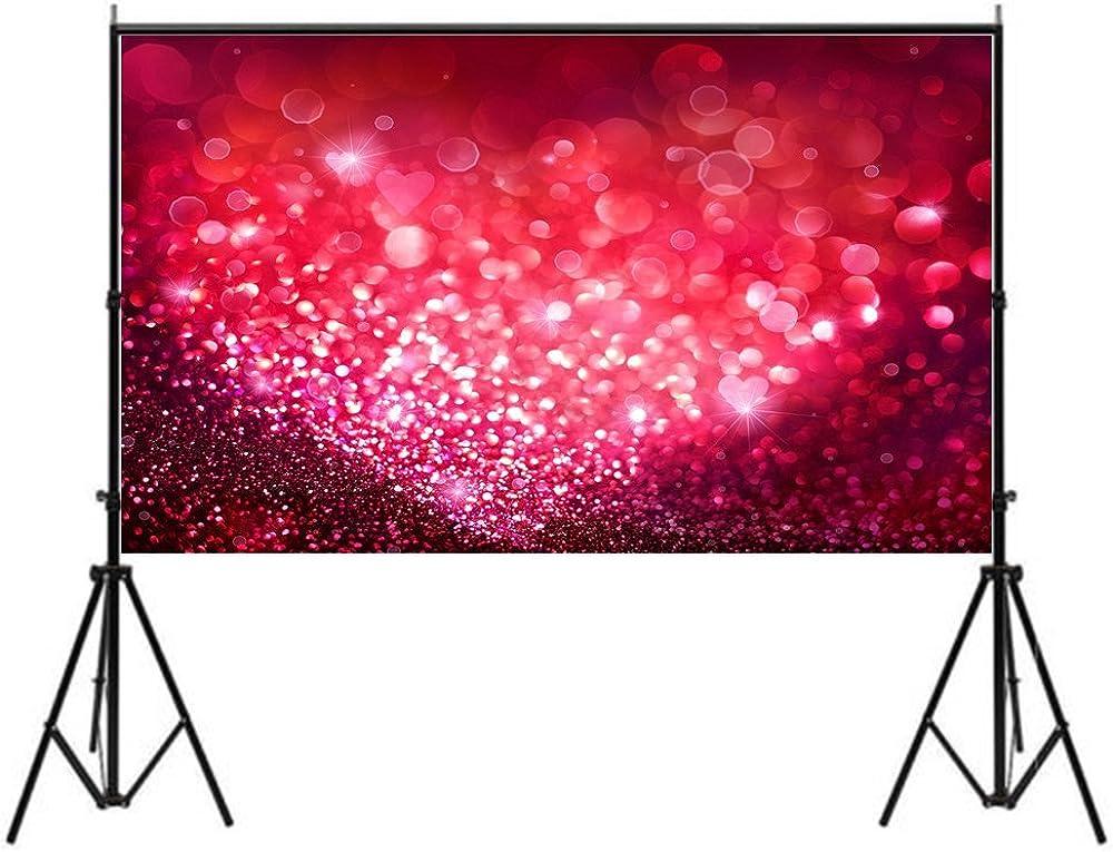 Lelinta 5x7ft Golden Glitter Bright Dots Photo Shoot Background Studio Props
