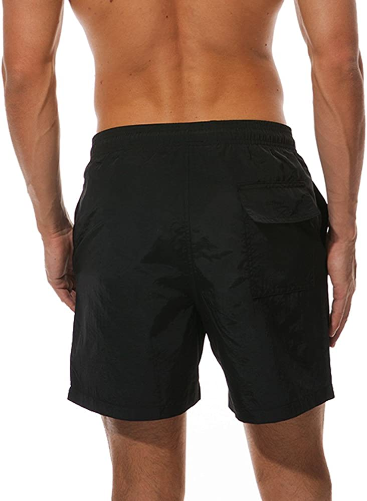FITTOO Mens Quick Dry Swimming Shorts Waterproof Swim Trunks Beach Bathing Suit Holiday