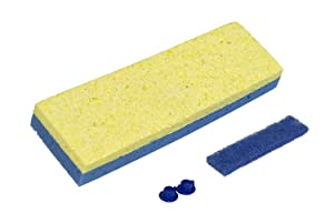 "Quickie Sponge Mop Refill 3 "" X 9 "" type S - 4 Pack"