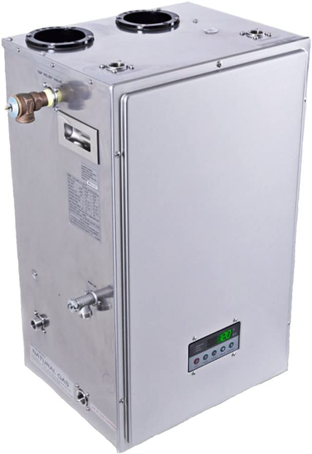Eternal Gu145s Condensing Hybrid Water Heater 14 5 Gpm Amazon Com The cold water will eventually turn to hot after a few minutes. eternal gu145s condensing hybrid water