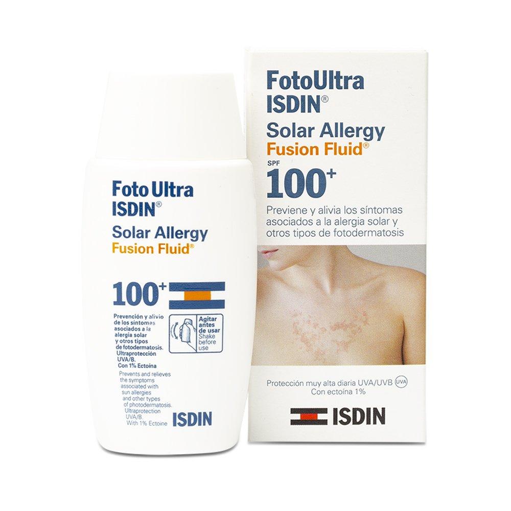 Solar Allergy FotoUltra Isdin Fusion Fluid SPF 100+ 50ml