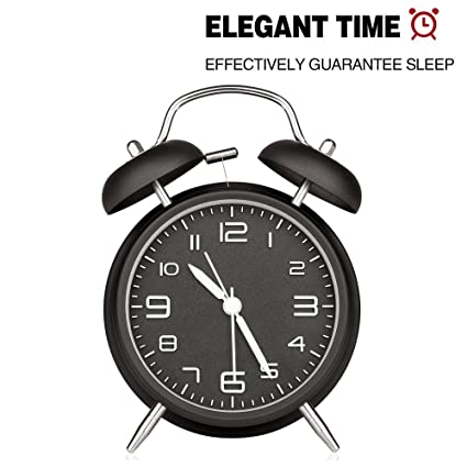Retro Twin Bell, Twin Bell Reloj despertador, Retro Twin ...