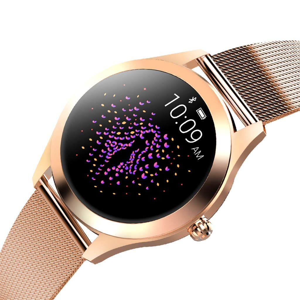 LUXISDE Fitness Bracelet Smartwatch Ladies, Activity Indicator KW10 Smart Watch IP68 Waterproof Wristband for Heart Rate Measurement Fitness by LUXISDE (Image #7)