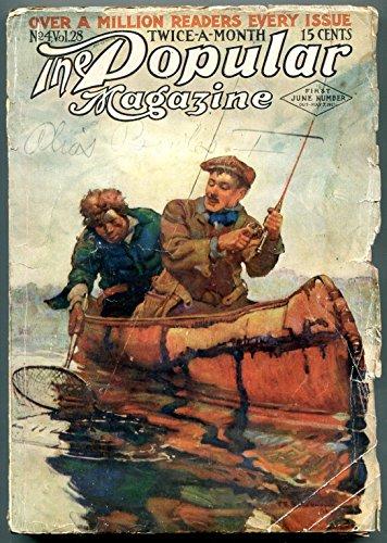 Popular Pulp Magazine June 1 1913- Alias Bowles & Far West - West Bowles