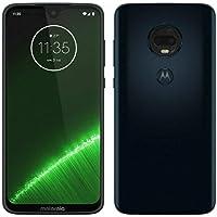 """Motorola Moto G7 Plus XT1965 64GB 6.2"""" FHD+ Dual SIM LTE Desbloqueado de fábrica (Modelo Internacional), Índigo Profundo"""