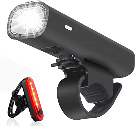 Viccioo LED Luz Bicicleta,Luces Delantera Bicicleta Recargable USB ...