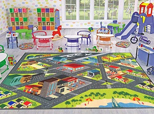 Kev Amp Cooper Playtime Collection Road Map Educational Area