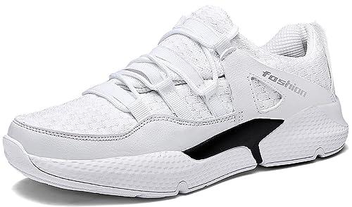 BenSorts Zapatos Zapatillas Running para Hombre Gimnasio Correr Sneakers Fitness Transpirables Casual Zapatos: Amazon.es: Zapatos y complementos