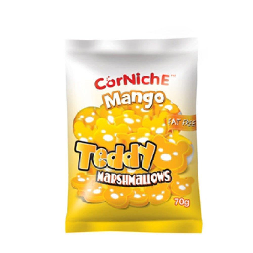 Corniche Teddy Marshmallow Mango 70g (628MART) (1 Pack)