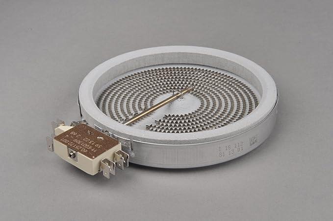 Calefactor de Hornilla Placa Cocina Vitrocerámica 145mm ...