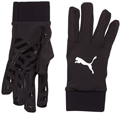 Puma Field Player Glove Gloves, Unisex – Adulto, black, 11