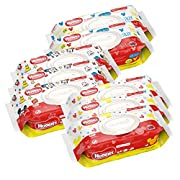 HUGGIES Simply Clean Baby Wipes, Unscented, Soft Pack,72 Count (Pack of 8) (Packaging May Vary)