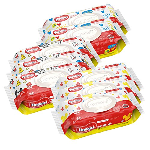 HUGGIES Simply Clean Unscented Packaging