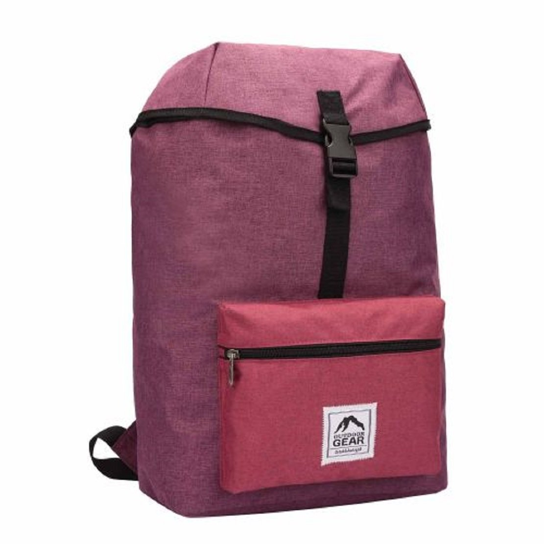 Clothes, Shoes & Accessories Outdoor Gear Jacquard Backpack 2 Front Pockets Travel Bag Unisex