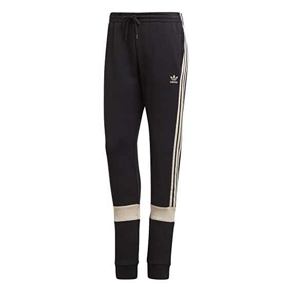 adidas Pantalone Tuta Donna Originals Nero: Amazon.co.uk ...