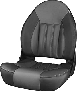 Tempress 54675 NaviStyle Low-Back Charcoal//Gray Boat Seat Marine Seating