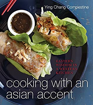book cover of Cooking with an Asian Accent
