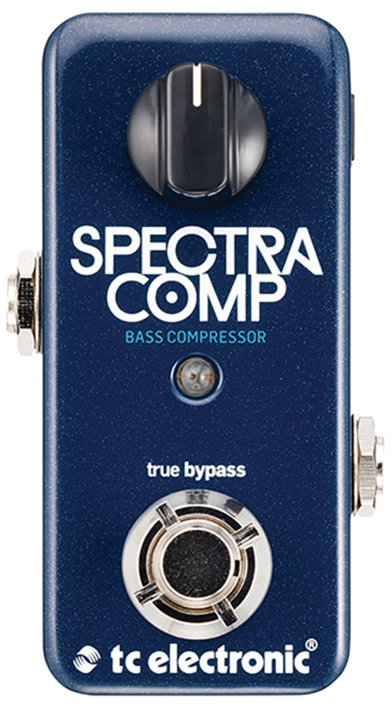 TC Electronic SpectraComp Bass Compressor Bass Compression Effect Pedal