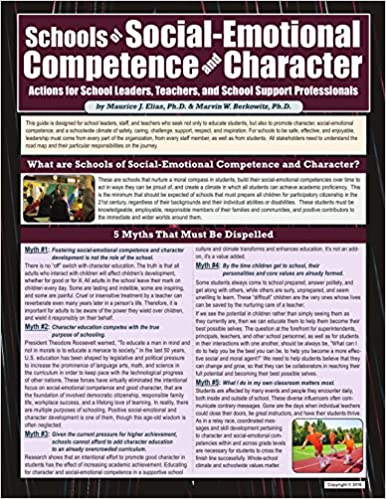 Schools of Social-emotional Competence and Character: Actions for School Leaders, Teachers, and Support Staff