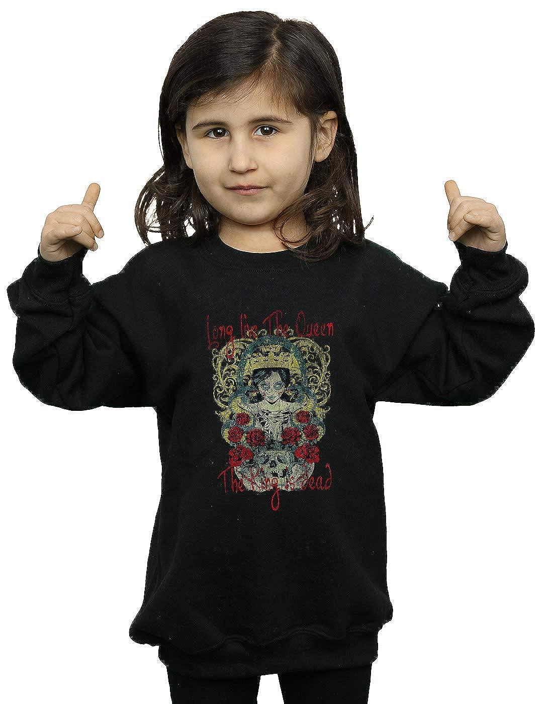 Absolute Cult Drewbacca Girls Long Live The Queen Sweatshirt
