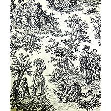 Jo-ann's Fabric,Paris,Novelty Prints,Chenille,Birds,Dogs,Chinese Kids (Medium Yardage, Waverley Rustic Life)