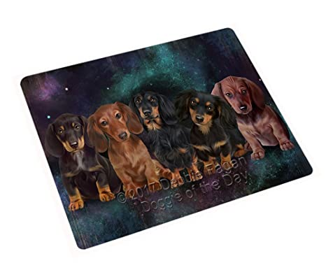 Puppy Dog Breed Kitchen Cutting Board Dachshund NEW