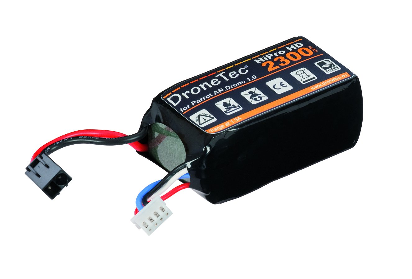 DroneTec - Batería de repuesto para Parrot AR Drone 2.0 y 1.0 ...