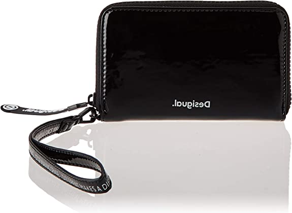 Desigual Accessories PU Medium Wallet, Tamaño Mediano. para Mujer, U