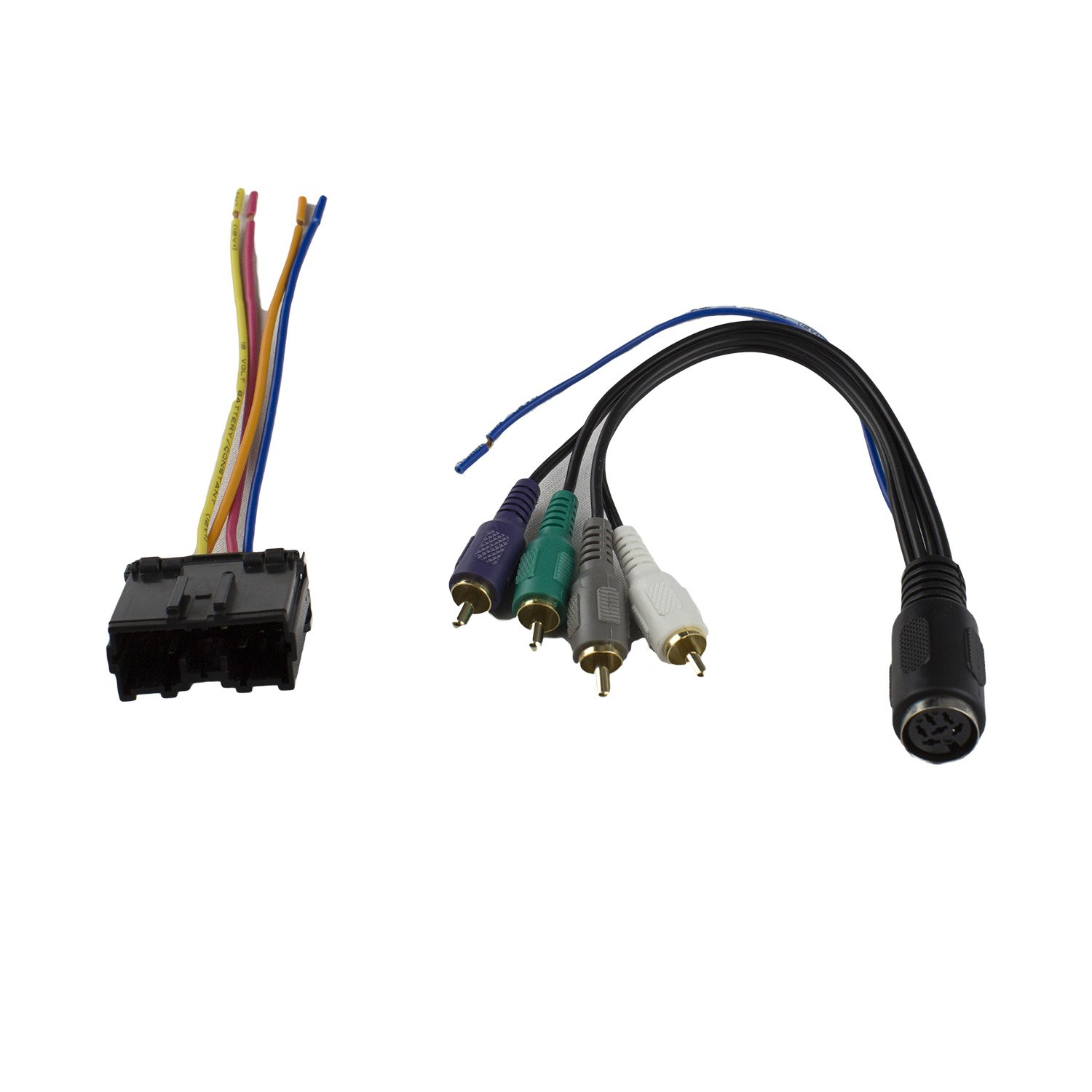 Amazon.com: Novosonics DAF-62A Wiring Harness for Mitsubishi (All with  Infinity System) 1994 -2007, Dodge Stealth 1994-1996: Car Electronics