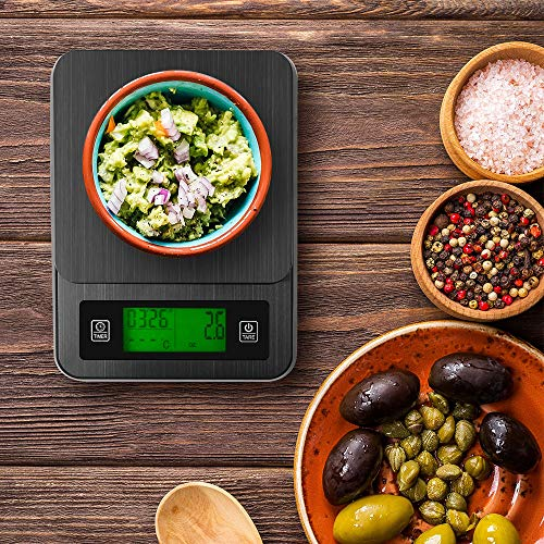 Bilancia Cucina Digitale TeKone B06W Da 1g A 5kg Alimenti Con Ciotola hsb