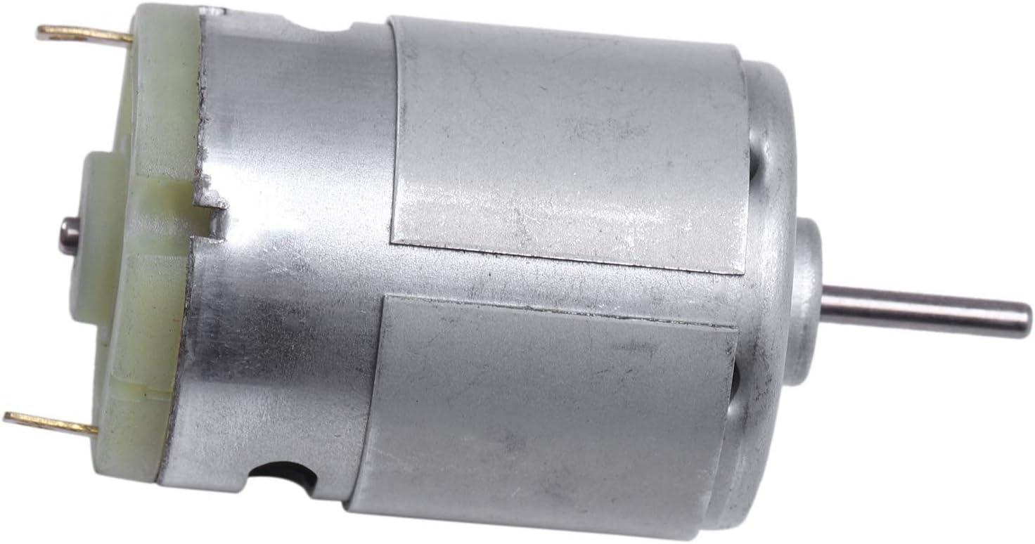 ACAMPTAR RS380 1.5-18 V 30000RPM Moteur de 38x28mm pour RC Modele de Jouets DIY Argent