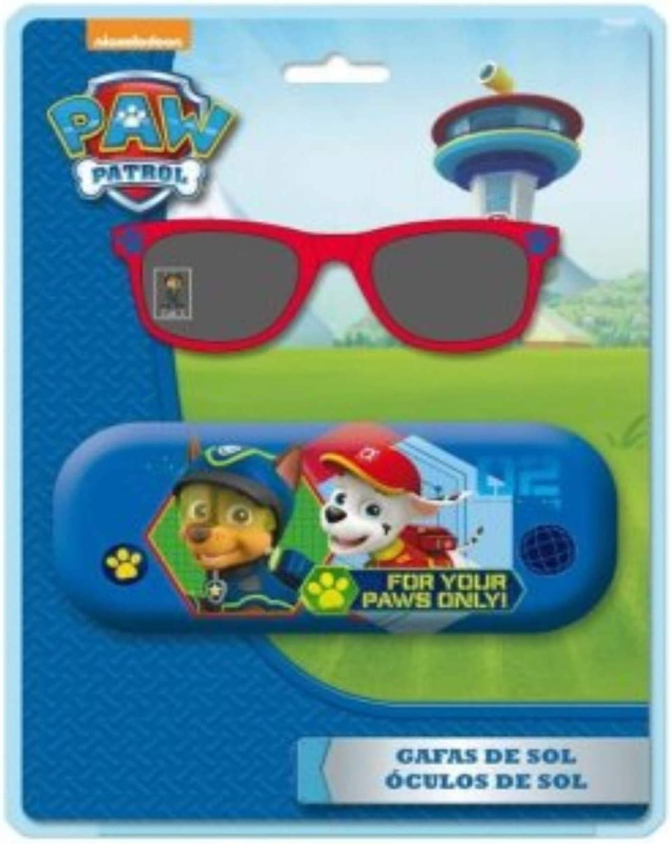 ast4493 Disney Occhiali da Sole Custodia Metallica Paw Patrol