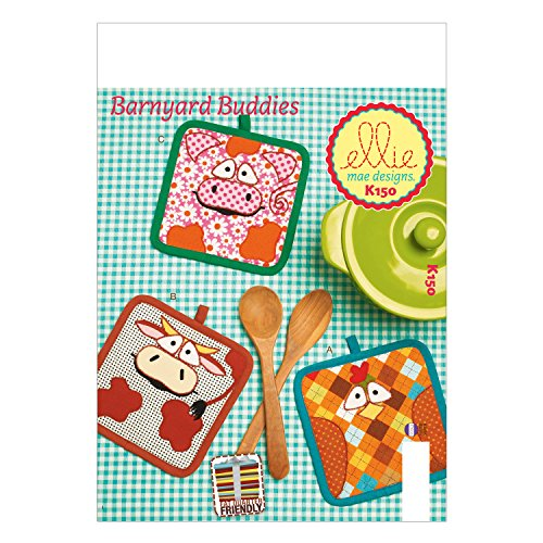 KWIK-SEW PATTERNS K0150 Potholders Sewing Template, One Size