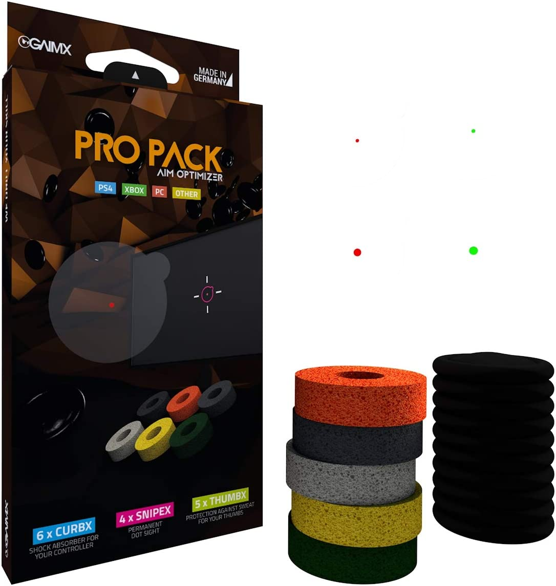 GAIMX PRO PACK Botones analógicos - Accesorios de controlador de juego (Botones analógicos, Nintendo Switch,PlayStation 4,Xbox One, Multicolor) , color/modelo surtido: Amazon.es: Juguetes y juegos