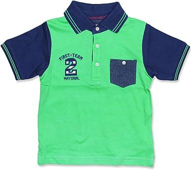 Mayoral - Polo - para bebé niño verde manzana 9 Meses / 74 cm ...