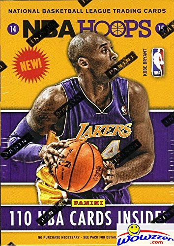 2014/15 Panini Hoops NBA Basketball Factory Sealed Blaster Box with 110 Cards & AUTOGRAPH/MEM! Every Pack has a RC & INSERT! Look for RC's & Autographs from Wiggins, Parker & all the Top Draft Picks! from Panini