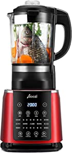 Aoozi Blender 1450w, Professional Countertop Blender Smoothie Maker with 68oz BPA Free Tritan Container, High Speed Power Blender Built-in Timer for Crusing Ice, Frozen Desser