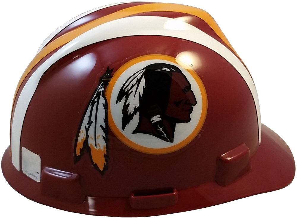 MSA NFL Ratchet Suspension Hardhats - Washington Redskins Hard Hats by MSA (Image #4)