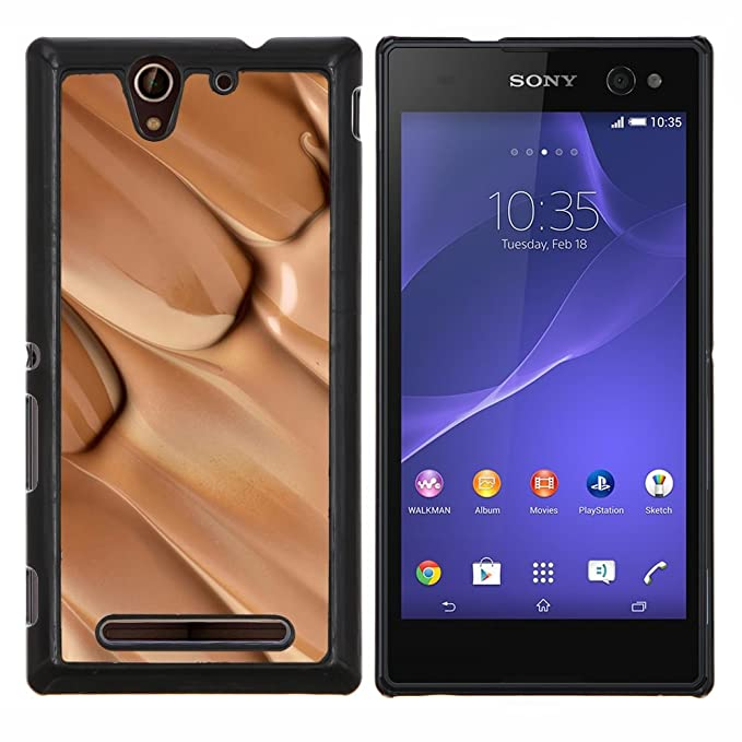 For Sony Xperia C3 D2533 - Chocolate Nougat Candy Bar Sweet