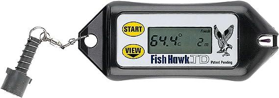 FISH HAWK TD Digital Temp et profondeur Guage