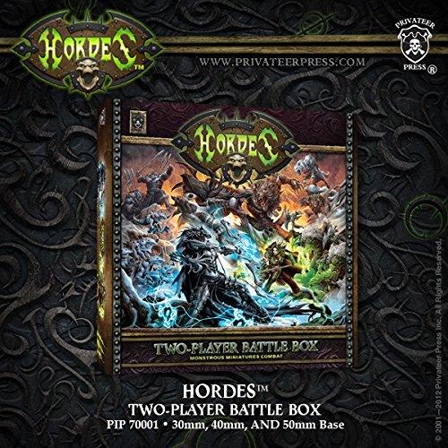 (Privateer Press Hordes Two Player Battle Box Model Kit )