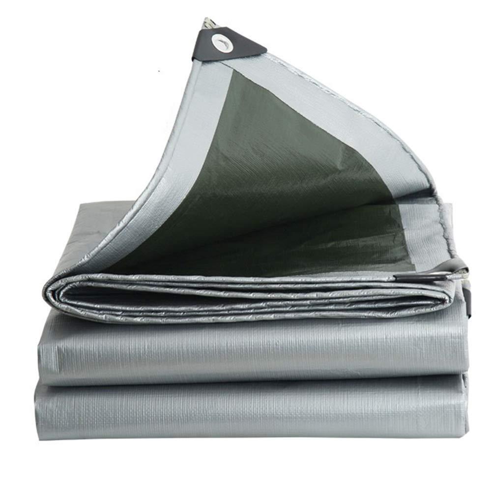 BÂche De Prougeection Imperméable, BÂche résistante imperméable UV Tout Usage de Couverture de Camping Tout Usage ZHANGQIANG (Couleur   A, Taille   4  8m) A 48m